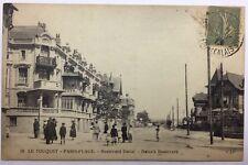 CPA Le Touquet Paris Plage - Boulevard Daloz #c254