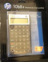 Hewlett Packard HP 10BII+ Plus Financial Calculator  NEW and SEALED