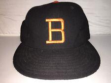 Vtg Baltimore Orioles NEW ERA MLB Baseball Fitted hat cap 7 1/8 70s 80s leather