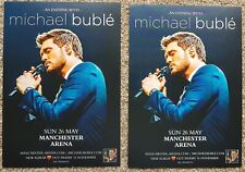 2 Flyers - Michael Buble - Manchester Arena - 26th May 2019 -