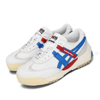 Asics Onitsuka Tiger Delegation EX White Blue Red Retro Men Shoes 1183A559-101