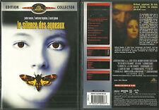 LE SILENCE DES AGNEAUX avec JODIE FOSTER, ANTHONY HOPKINS ( EDITION 2 DVD )