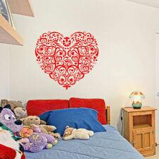 ik1679 Wall Decal Sticker heart flower decoration living room children's