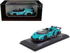 Lamborghini Veneno Roadster Blue Red Line 1 64 Scale Kyosho 7040a4