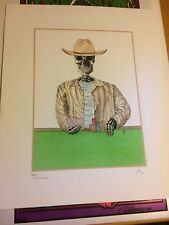 "Poker art print ""Dead Mans Hand"" by Medici Test Print 1/1 World Series of Poker"