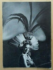 Mexican Dance Company programme Piccadilly Theatre 1960 Javier de Leon