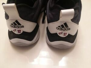 ARIZONA COYOTES Laurent Dauphin worn Adidas workout shoes size 11 from 2017-2018