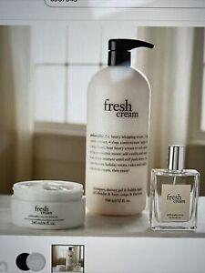 philosophy  fresh cream Layering Trio Bath, Body & Fragrance NEW !