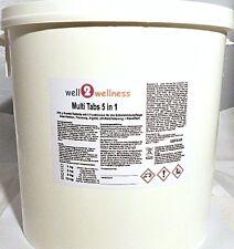Chlortabletten Chlor Multitabs 5in1 / Multiblock 500 g - 10,0 kg