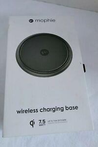 mophie 4116_WRLS-CHGPAD-AC-BLK-NA - Wireless Charge Pad - Apple Optimized - 7.5W