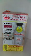 Waste King Legend Series L-8000 Garbage Disposal 1.0-Horsepower Continuous-Feed