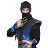 Ninja Claw Samurai Weapon Martial Arts Japanese Fancy Dress Accessory