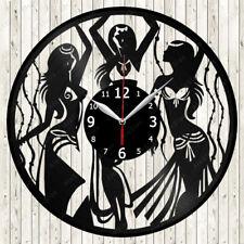 Belly Dance Vinyl Record Wall Clock Decor Handmade 1429
