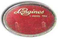 targa espositore display concessionario longines anni 50 vintage grands prix