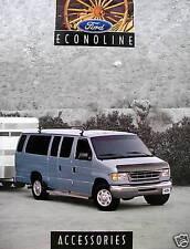1999 FORD ECONOLINE VAN ACCESSORIES BROCHURE-ECONOLINE-E150-E250=E350-CLUB WAGON