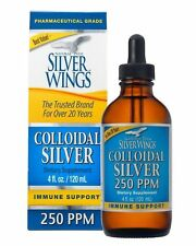 Natural Path Silver Wings Colloidal Silver 250 Ppm 4 oz