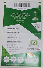 ticket 2013 FIFA Club World Al Ahly Raja Casablanca Atletico Mineiro Monterrey