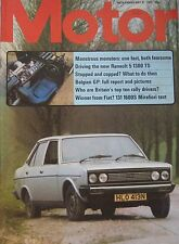 Motor magazine 31/5/1975 featuring Fiat 131 road test