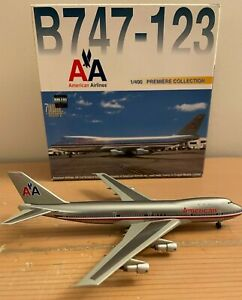 American Airlines Boeing 747-100 Dragon Wings 1:400 Scale Diecast Model Aircraft
