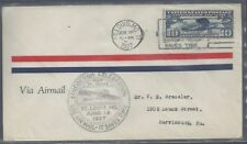 #C10 FDC with cachet with St. Louis, MO cancel - 10 cent Lindbergh