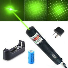 New JD851 Green Laser Pointer 1mw 532nm - 16340 Battery with charger OZ