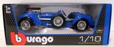 Voitures, camions et fourgons miniatures bleus pour Bugatti 1:8