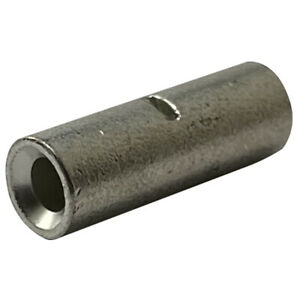 (10) 6 to 8 Gauge Non-Insulated Step Down Butt Connector Crimp Wire Terminal USA