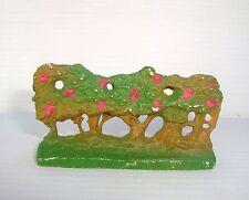 Figurine ancienne plastique clairet ferme : décor haie pour starlux jim cyrnos