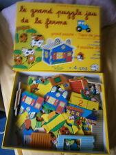 Le Grand puzzle jeu de la ferme VILAC
