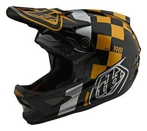 Black//Blue//One Size Troy Lee Designs Adult A1 Visor Classic BMX Helmet Accessories