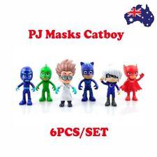 PJ Masks Characters Catboy Owlette Gekko Cloak Action Figure Toy Cake Topper OZ