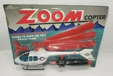 Zoom Copter U.S. Air Force Helicopter No Batteries Required Flies 100 feet New