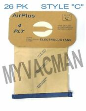 """Electrolux Canister """"Style C"""" 26 Pk. Micron Filter Bags for Canister Vacuums"""