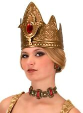 Queen's CROWN Quenn Elizabeth Prom Game of Thrones Gold medieval Costume