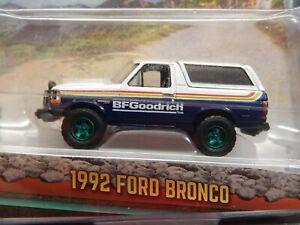 Greenlight ALL TERRAIN 1992 Ford Bronco BF Goodrich 4X4  GREEN MACHINE MOMC