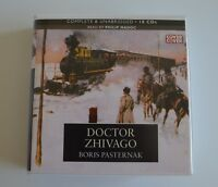 Doctor Zhivago -  by Boris Pasternak - Unabridged Audiobook - 18CDs