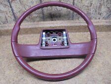 New Listing1996 Isuzu Rodeo Red Maroon Steering Wheel 96