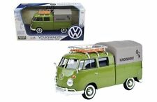 MOTORMAX VOLKSWAGEN TYPE 2 (T1) DELIVERY PICKUP TRUCK GREEN 1:24 CAR 79554