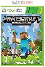 MINECRAFT - XBOX 360 BRAND NEW FREE DELIVERY