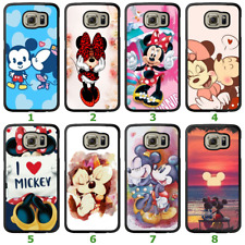 Galaxy S9 S8 Plus S7 Edge Note 8 5 Bumper Case Disney Mickey Minnie Mouse Cover
