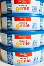 Playtex Diaper Genie Refill Disposal System Odor Lock Protection 240 480 720 960