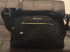 Calvin Klein Black Zippered Purse BAERLY USED