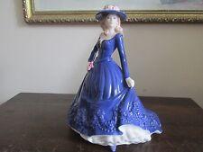 "Royal Worcester England Porcelain Figurine Les Petites "" Leanne"""