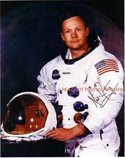 ** NEIL ARMSTRON ** Nasa Astronaut Autographed 8x10 Photo (RP)