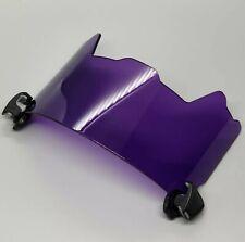 Transparent Purple Football Visor for Riddell, Xenith & other Brand Helmets