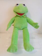 "* RARO * Build a Bear Workshop 19"" Kermit la Rana-Muppet Giocattolo Morbido"