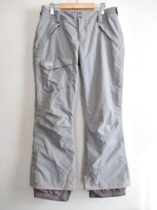 EUC The North Face Womens HyVent Insulated Freestyle Snow Ski Pants Grey Size L