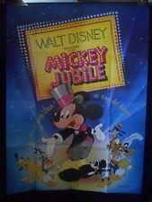 AFFICHE originale grand format ( 120 x 160 ) . MICKEY JUBILE ( 1979 ) .
