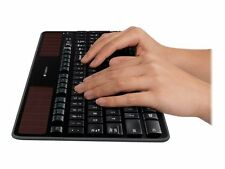 Logitech Wireless Solar Keyboard K750 - Tastatur - drahtlos - 2.4 GHz - Deutsch