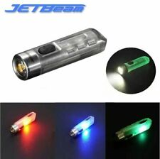 JETBeam Mini One SE USB Charge CREE Xp-g3 500 Lumens 5 Color LED Flashlight